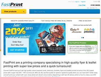 fastprint.co.uk screenshot