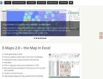 map-in-excel.com screenshot