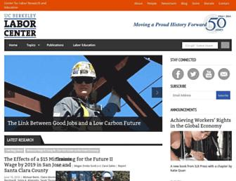 laborcenter.berkeley.edu screenshot