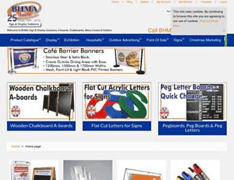 bhma.co.uk screenshot