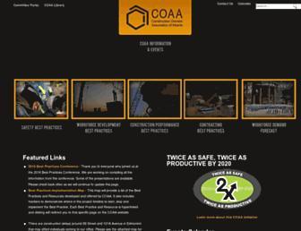 coaa.ab.ca screenshot