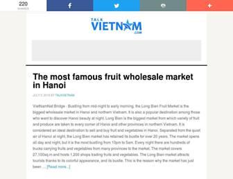 talkvietnam.com screenshot