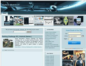 gallerymobile21.blogspot.com screenshot