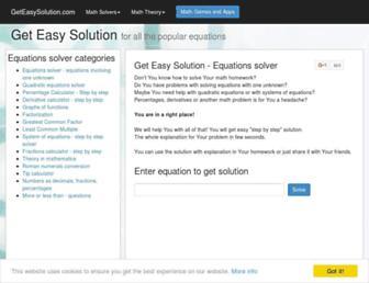 geteasysolution.com screenshot