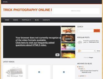 trickphotographyonline.blogspot.com screenshot