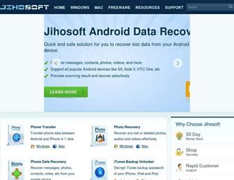 jihosoft.com screenshot