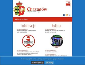 chrzanow.pl screenshot