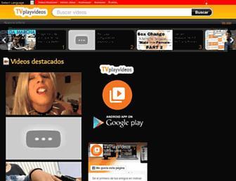 Screenshot for tvplayvideos.com