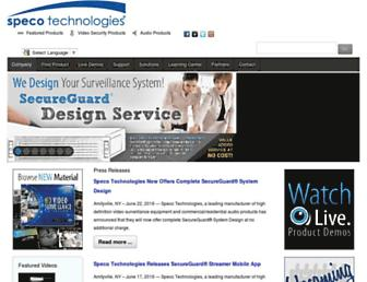 Thumbshot of Specotech.com