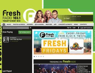 Thumbshot of 1031freshfm.com