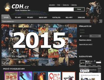 cdh.cz screenshot