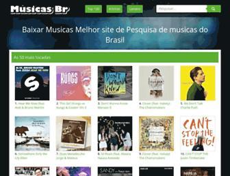 musicasbrmp3.org screenshot