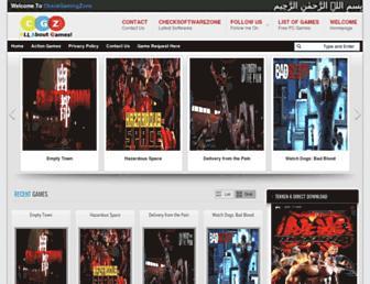 checkgamingzone.com screenshot