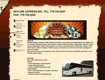 skylinkexp.com screenshot