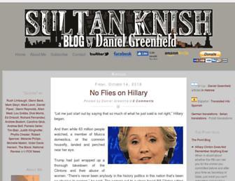 sultanknish.blogspot.com screenshot