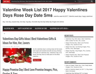 valentine-week.com screenshot