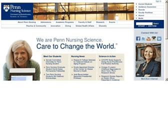 nursing.upenn.edu screenshot