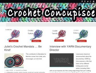 crochetconcupiscence.com screenshot
