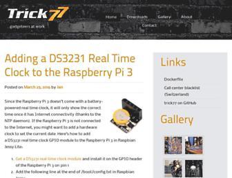trick77.com screenshot
