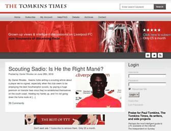 tomkinstimes.com screenshot