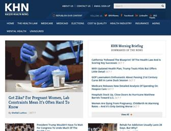 khn.org screenshot