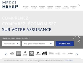 lecomparateurassurance.com screenshot