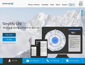 Thumbshot of Goalscape.com