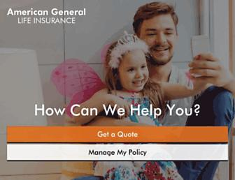americangeneraltermlife.com screenshot