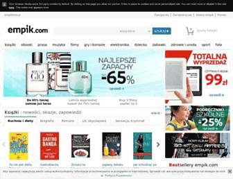 empik.com screenshot