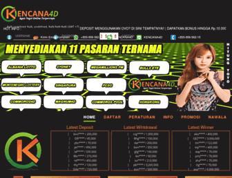 kencana4d.info screenshot