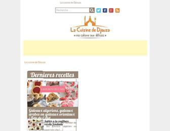 cuisinezavecdjouza.fr screenshot
