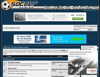 soccergaming.com screenshot