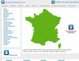 vendregratuitement.com screenshot