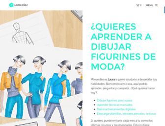 laurapaez.com screenshot