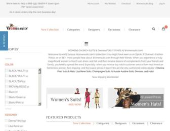 Thumbshot of Womensuits.com