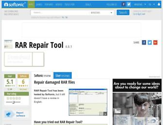 rar-repair-tool.en.softonic.com screenshot