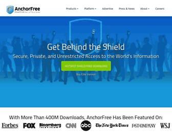 Thumbshot of Anchorfree.com