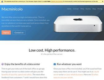 Thumbshot of Macminicolo.net