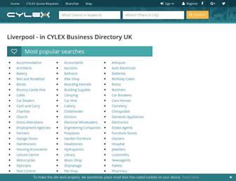 liverpool.cylex-uk.co.uk screenshot