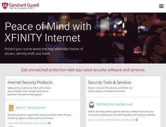 constantguard.xfinity.com screenshot