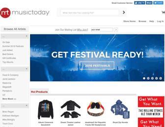 shop.musictoday.com screenshot