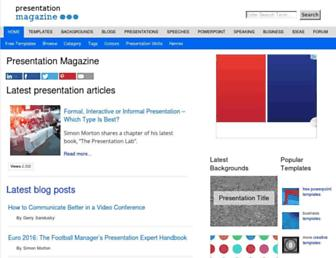 presentationmagazine.com screenshot