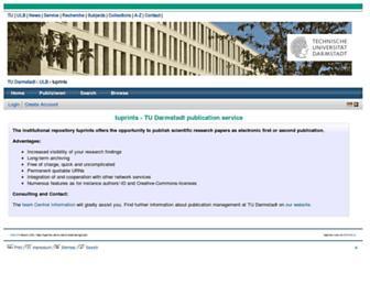 tuprints.ulb.tu-darmstadt.de screenshot
