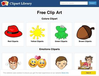clipart-library.com screenshot