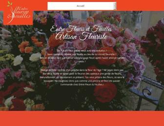 entre-fleurs-et-feuilles.fr screenshot