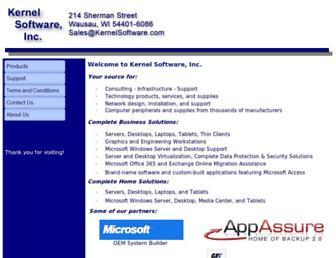 kernelsoftware.com screenshot
