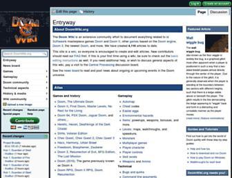 doomwiki.org screenshot
