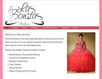 lasbonitasfashion.com screenshot