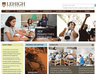 www1.lehigh.edu screenshot