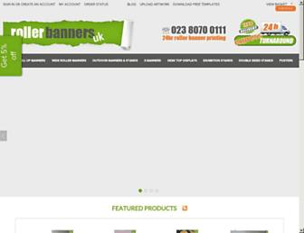 rollerbannersuk.com screenshot
